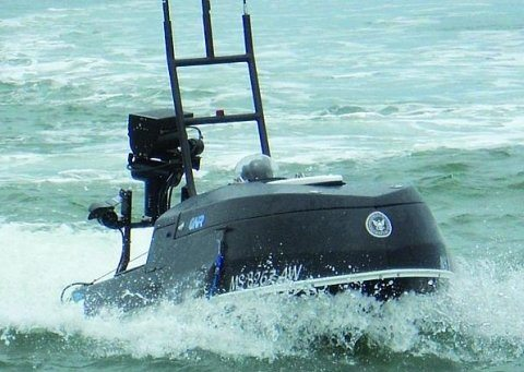 Navy Tests Unmanned Water Craft to Pro...