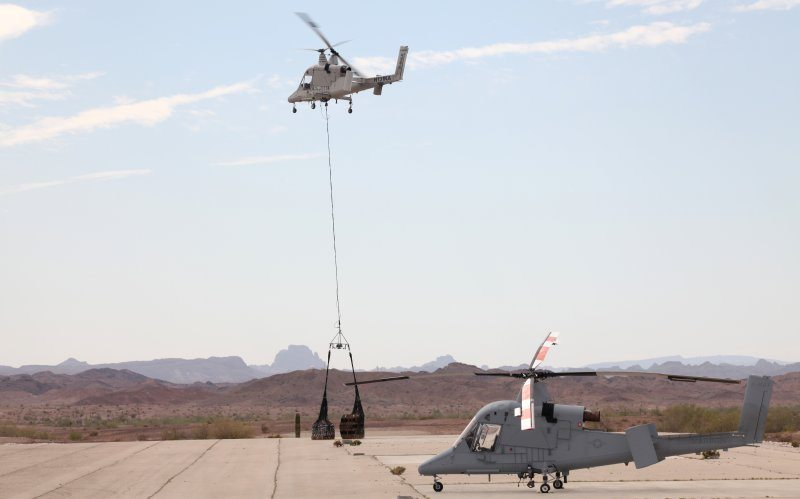 K-MAX Completes US Navy Unmanned Cargo Assessment Tests