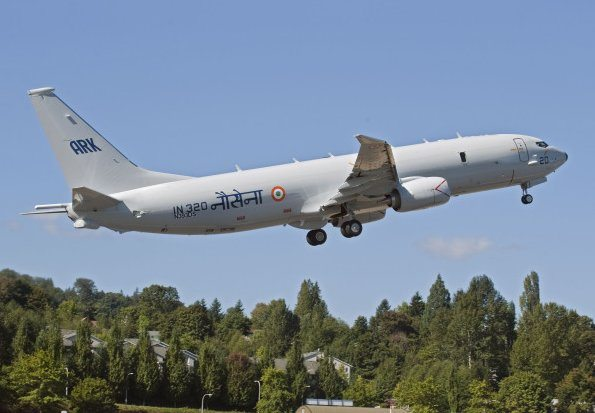 First Indian Boeing P-8I Aircraft Comp...