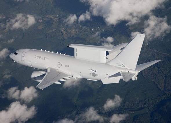 First Peace Eye AEW&C Aircraft Del...