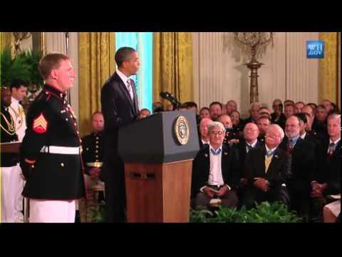 Sgt. Dakota Meyer Receives Medal of Honor