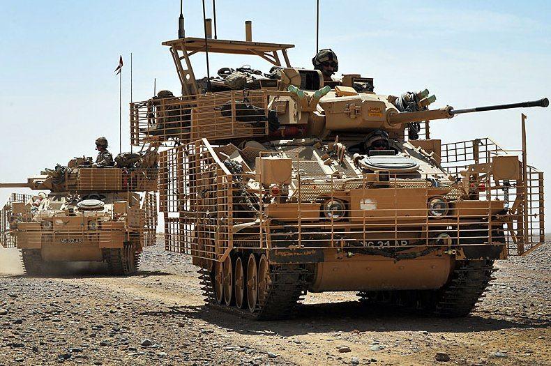 UK Up-Armoured Vehicles Begin Afghanis...