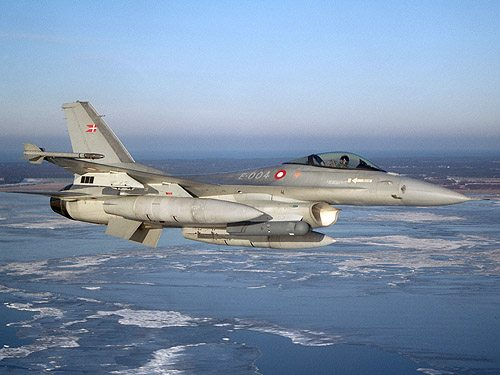 Danish Airforce Takes Over NATO Baltic...