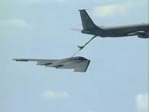 B-2 Spirit Aerial Refueling