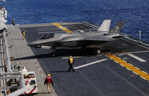 Joint strike fighter on track, costs coming down, Kendall says