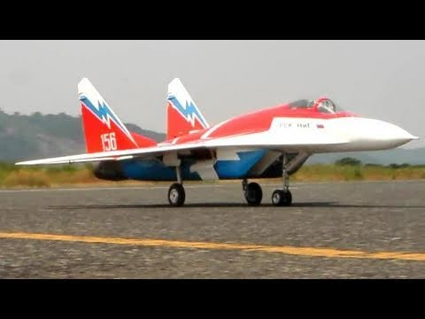 Mig-29 OVT (Vector Thrust) – RC Jet Turbine Power