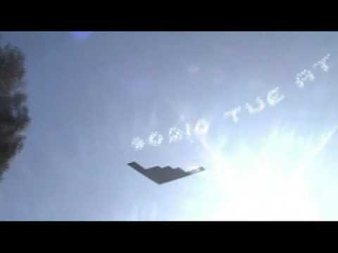 Stealth Bomber B-2 Spirit Flyover – 2009 USC v Penn St. Rose Bowl Game