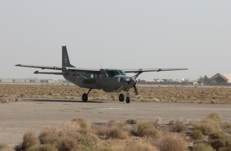 Afghan air force receives first of six...