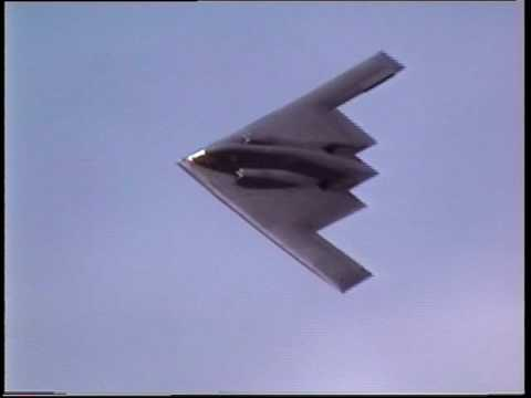 B2 Spirit Stealth Bomber Mildenhall May 2000