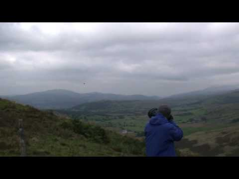Great Sounding F-15 Eagles Flying Through The Mach Loop Wales.