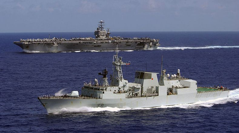 Canada orders warships to stay in Medi...