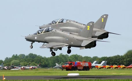Indian Navy Receives First Hawk Traine...
