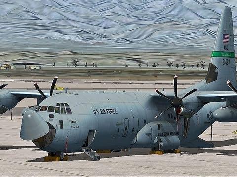 JustFlight C-130 Hercules