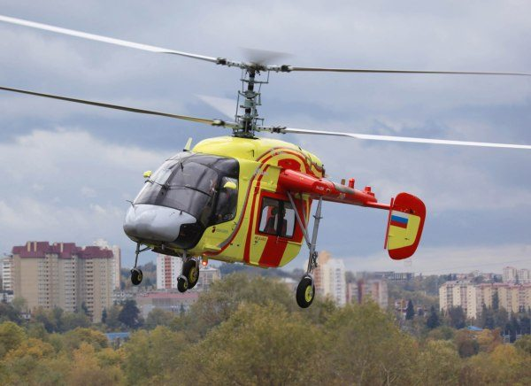New Russian Rotorcraft Created to Ensu...