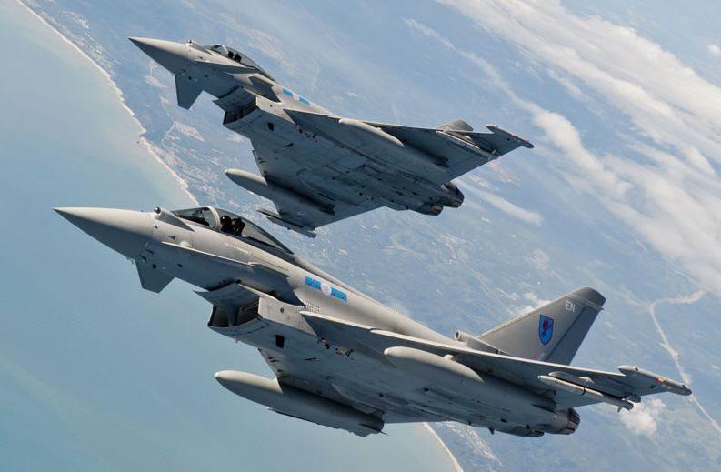 6 Squadron Take Paveway to Typhoon Mul...