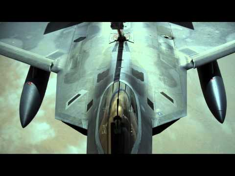 The F-22 Raptor – Tribute Video – VERY COOL PLANE!!
