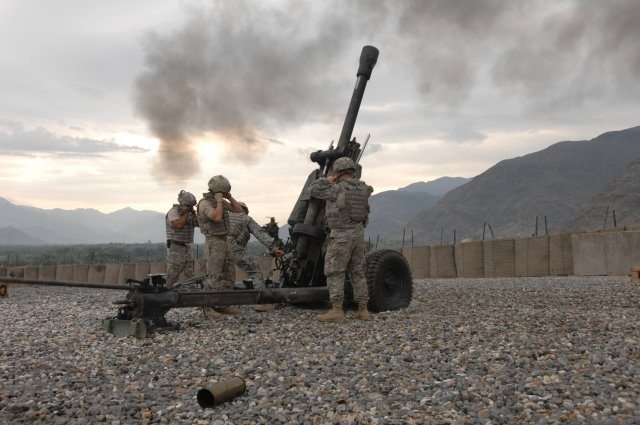 New ammunition combines four artillery...