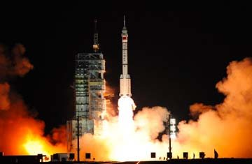 China spacecraft launches on key mission