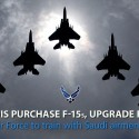 Saudi Arabia to purchase 84 F-15SA, upgrade current F-15 fleet
