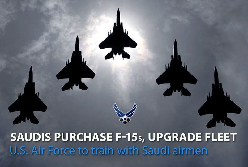 Saudi Arabia to purchase 84 F-15SA, up...