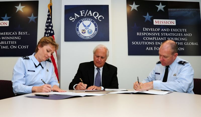 Air Force Takes Steps to Advance Contr...