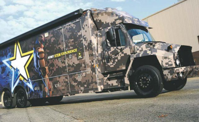 Army finalizes STEM vehicle for recrui...