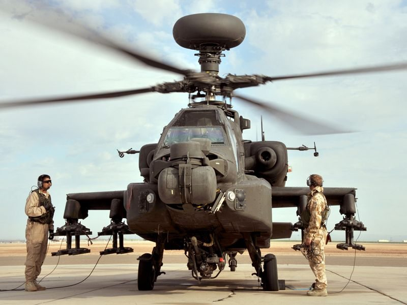 British Army completes Apache exercise in the States
