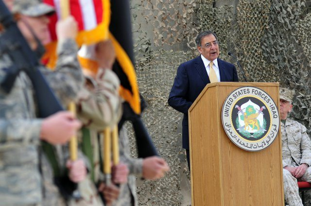 Panetta, Dempsey mark end of Iraq miss...