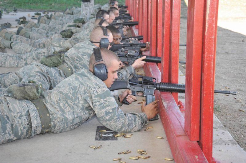 Air Force rolls out new rifle qualific...
