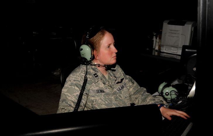 727th EACS Takes Control of Air Defense of the Arabian Gulf