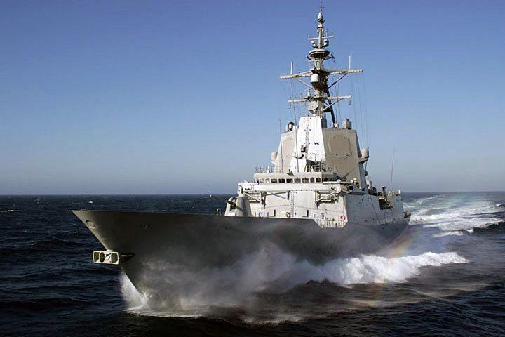 Navantia Prepares Spanish Navy Fifth F...