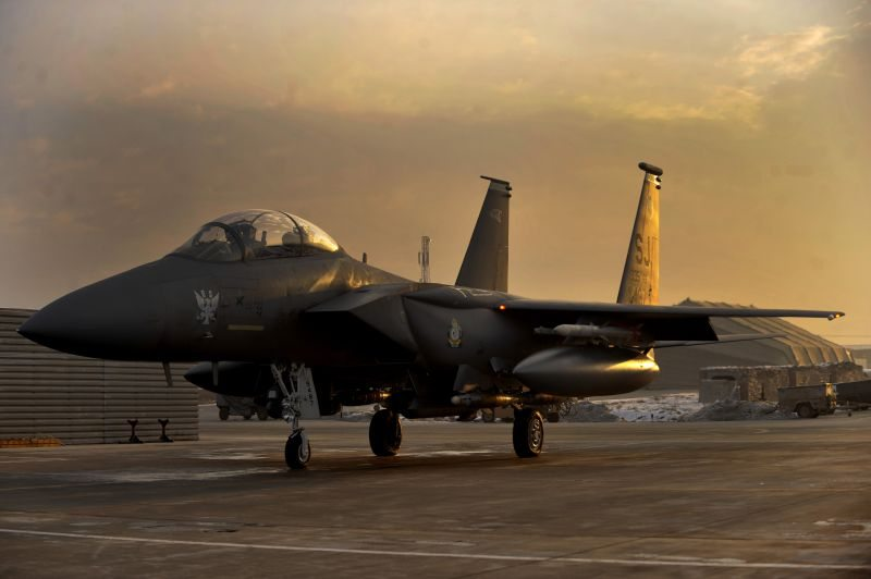 F-15E reaches flying-hour milestone