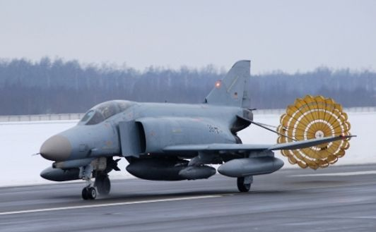 German Military Will Guard Baltic Airs...