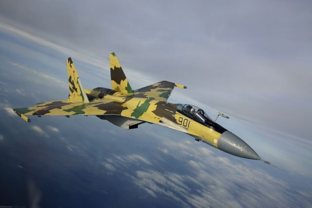 Russia Close to Sign Su-35 Fighter Dea...