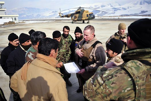 Accomplishments in Afghanistan Set Sta...