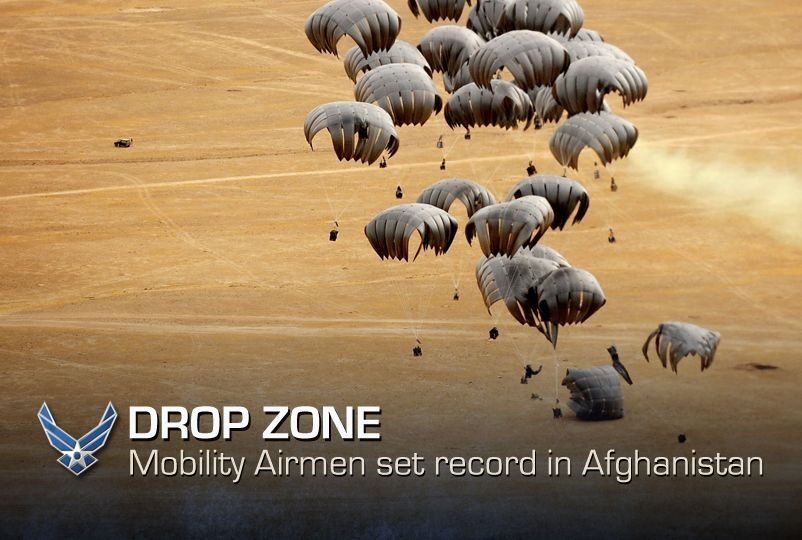Afghanistan airdrops surpass record le...