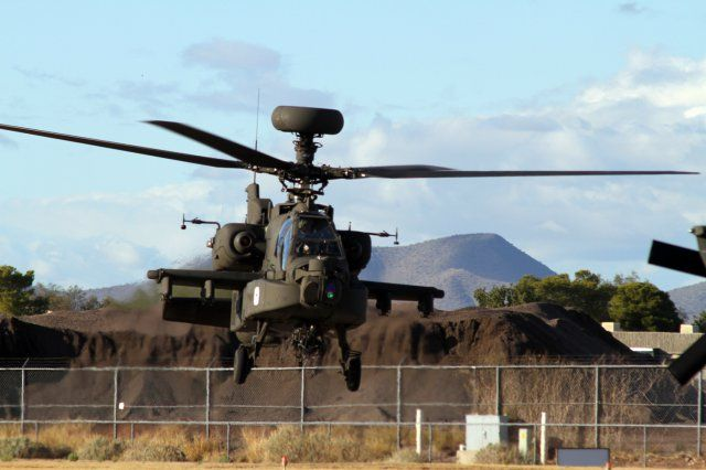 Apache Block III Helicopter Performs W...