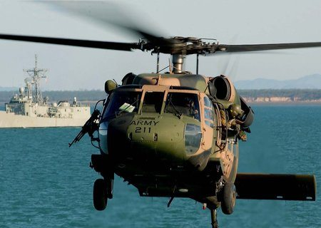 Australian Army Grounds Black Hawk Hel...