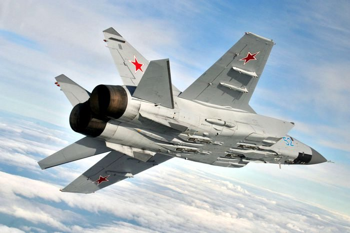 Russian Air Force Tests New Air-to-Air...