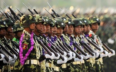 Myanmar president reaffirms army role