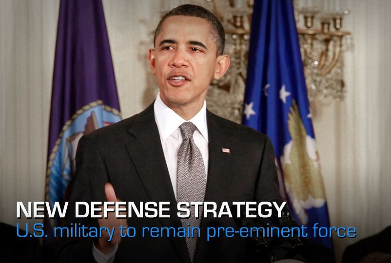 Obama: Defense strategy will maintain ...