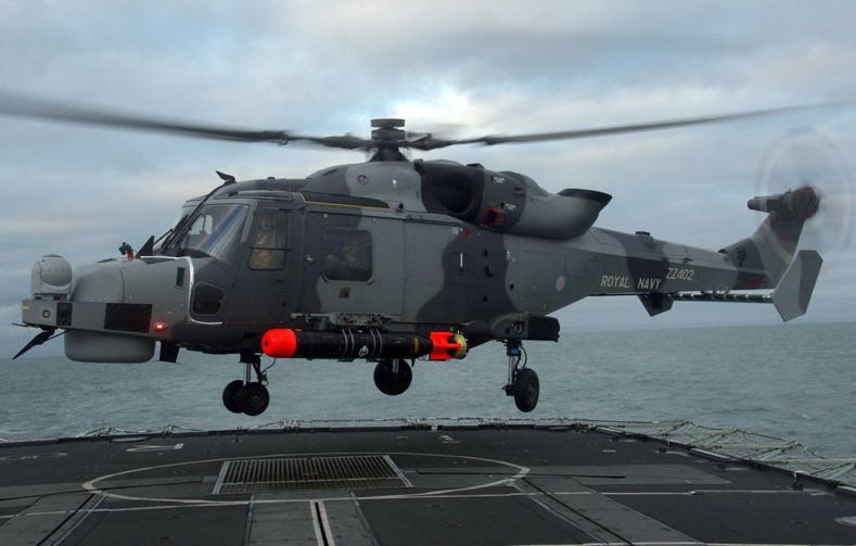 Royal Navy's New Lynx Wildcat Helicopt...
