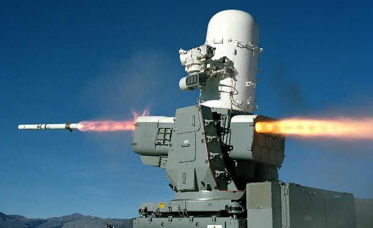 Raytheon Completes Ship Self-Defense System Deliveries
