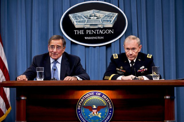 US Defense officials announce fiscal 2013 budget priorities