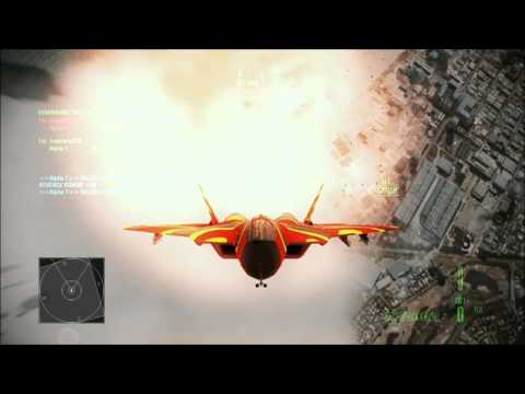 Ace Combat Assault Horizon Xbox 360 Online Gameplay SU-33 Deathmatch