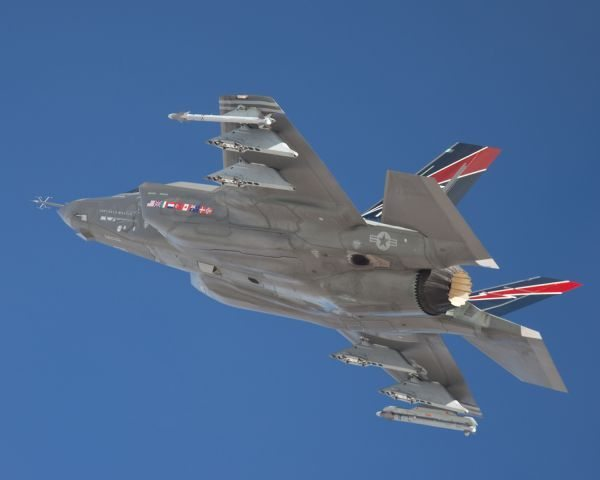 F-35A Conducts First External Weapons ...