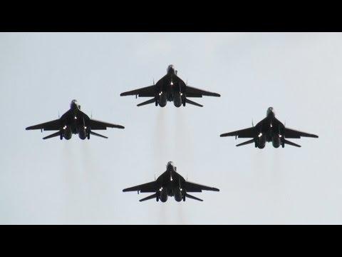 "LIMA 2011 MiG-29 ""Smokey Bandits"" Malaysia Air Force Demo Team TUDM RMAF"