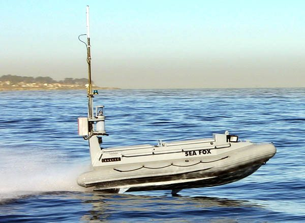 Navy Equips Unmanned Boats with Non-Le...