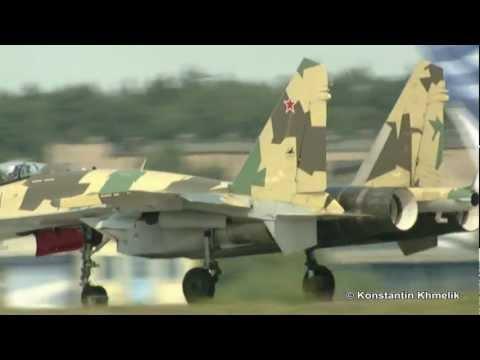 Su-35 at MAKS 2011