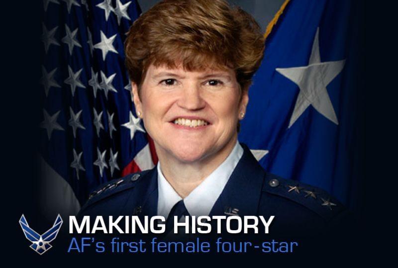 US Air Force announces first female fo...